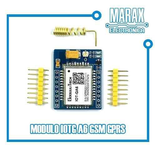 Modulo Iot A6 Gprs Gsm No Sim800l