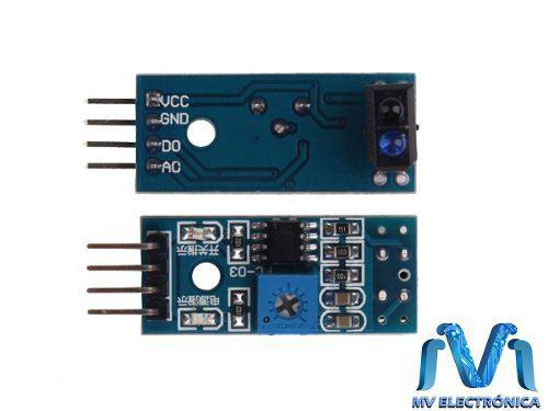 Modulo Tcrt5000 Sensor Optico Reflectivo Infrarrojo Arduino