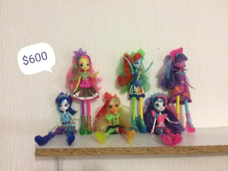 Muñecas My Little pony Equestria girl