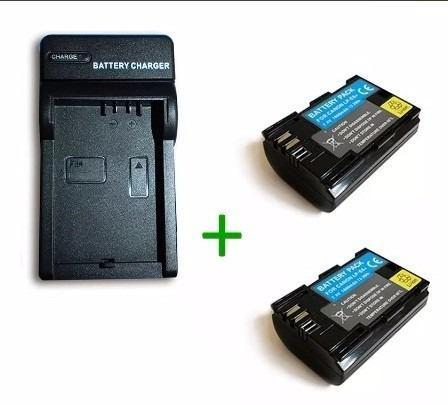 Pack Cargador + 2 Baterias Lp-e6 Para Canon Eos 5d 70d 60d