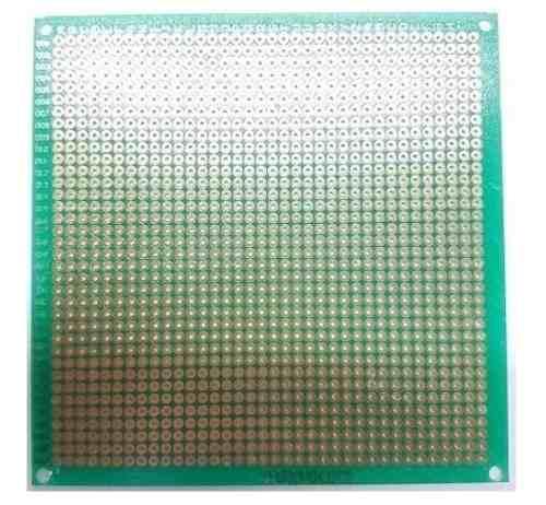 Placa Fenolica Perforada Verde 10×10 Cm