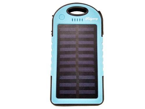 Power Bank Batería Pila Externa Solar 5000 Mah Luz Led