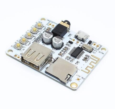 Receptor Preamplificador Bluetooth Con Ranura Sd Salida A7-0