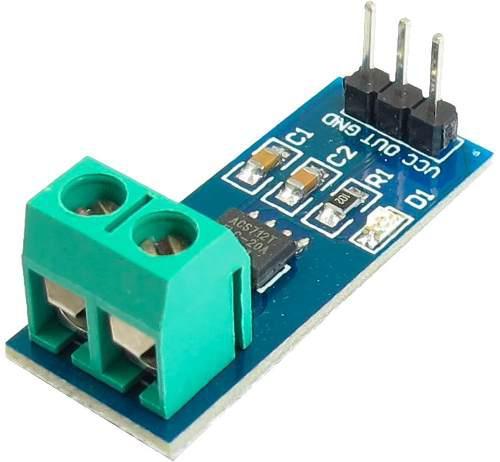 Sensor De Corriente 0-30a Acs712 Arduino Raspberry