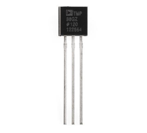 Sensor De Temperatura Tmp36 Cdmx Electrónica