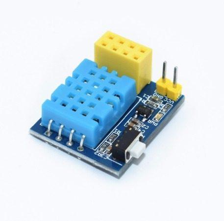Sensor De Temperatura Y Humedad Con Interfaz Esp8266 Iot Sin