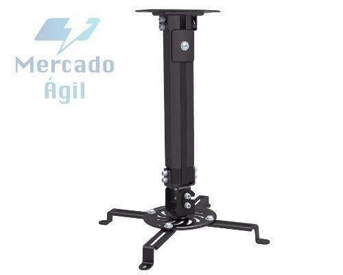 Soporte De Techo Para Proyector Ovaltech 380-580mm 13.5kg