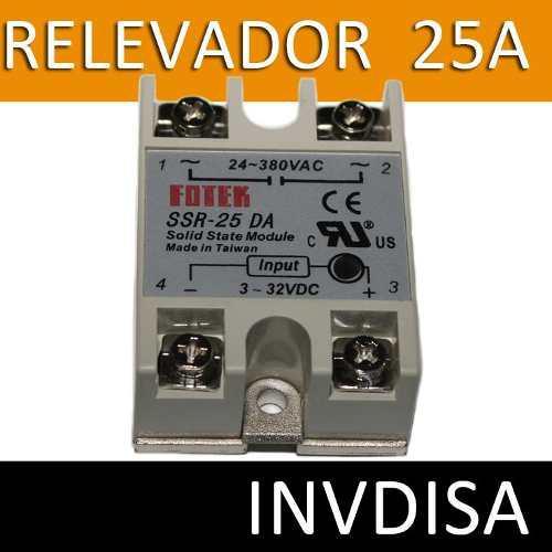 Ssr-25da Relay Relevador Estado Solido 25a Arduino Pic Aa