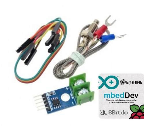 Termopar Tipo K + Modulo Max6675 Arduino Con Envio