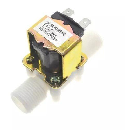 Válvula Para Paso De Agua 12v Nc 1/2 Arduino