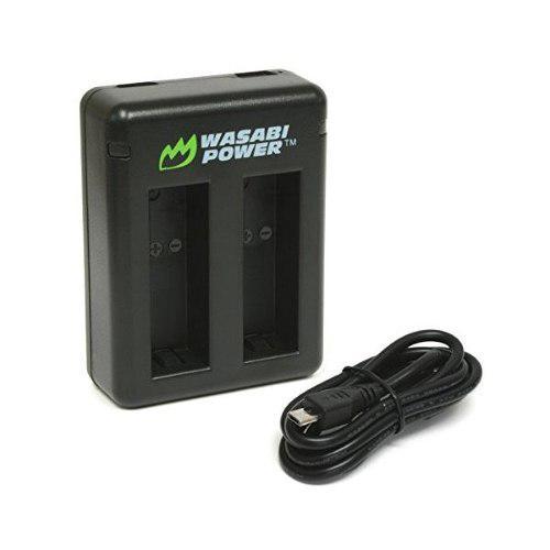 Wasabi Potencia Doble Cargador De Batería Para Gopro Hero