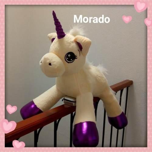 ***oferta Rematamos Todo Unicornio Peluche 90cm