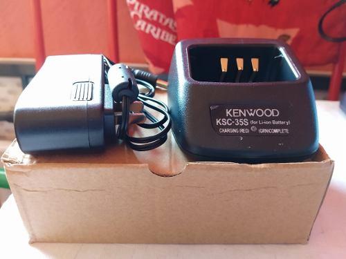 Cargador Nuevo Ksc 35 Rapidos Para Kenwood Tk