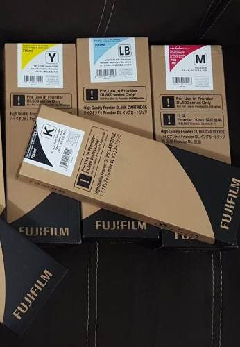 Cartuchos De Tinta Fuji Frontier Dl600