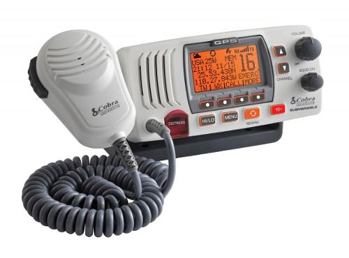 Cobra Mr F77w Radio Vhf Montaje Fijo Gps 25 Watt Clase-d,
