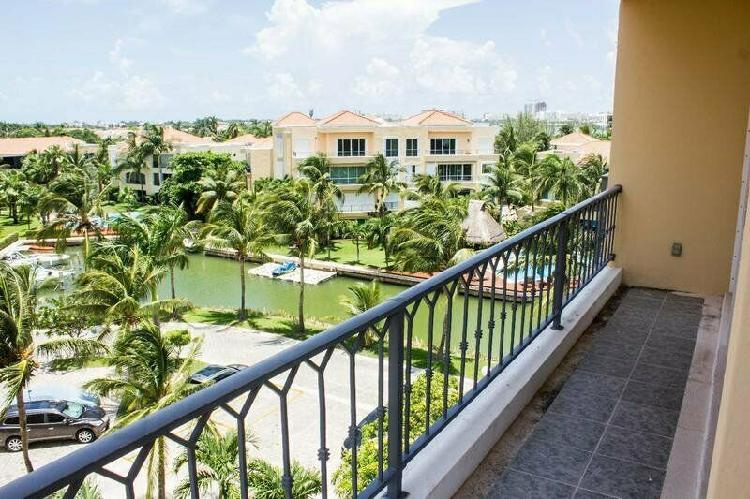 Departamento en venta en isla dorada Cancún/Isla Diamante /