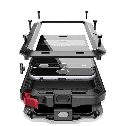 Funda Samsung S6 Edge S7 Edge Note 8 Note 5 S8 Plus Metalico