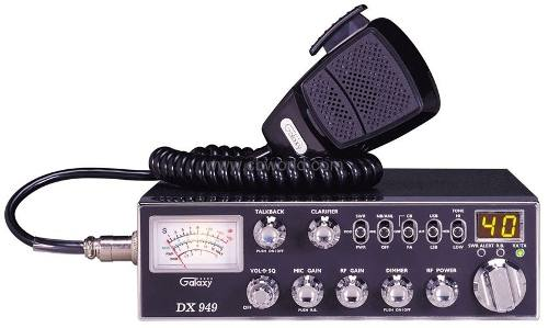 Galaxy Radio Cb Dx  Canales Am/lsb/usmam,ssb Dx949