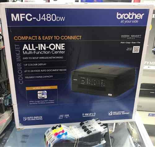 Impresora Multifuncional Brother J480dw J880dw