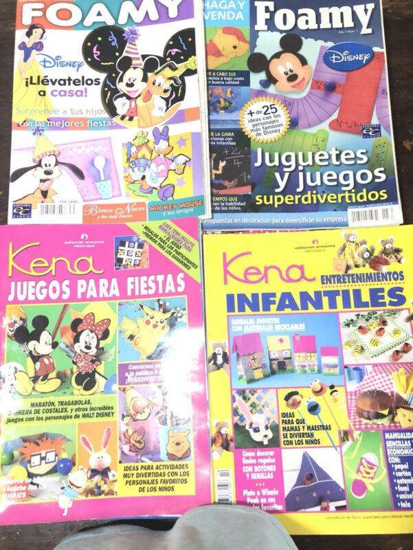 Lote de 100 revistas de manualidades $$