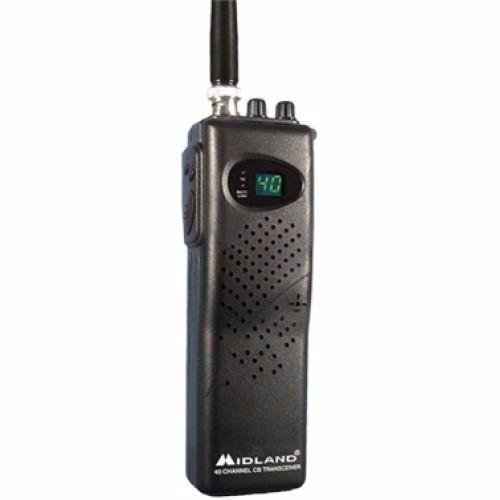 Midland Cb Portatil Radio 40 Canales Cable De Coche