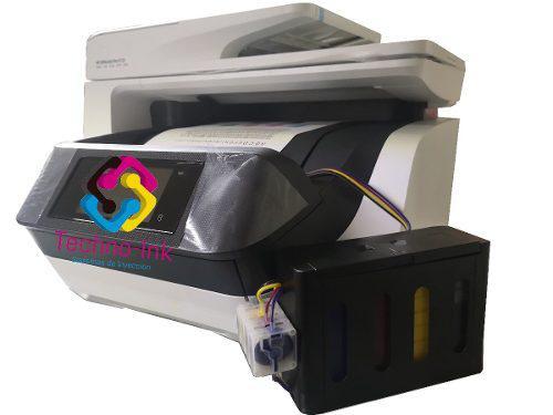 Multi Hp Officejet 8720 Con Sistema De Tinta Cama Oficio