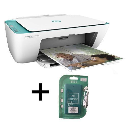 Multifuncional Hp Deskjet Tinta 2675 Wifi+ Power Bank Gratis
