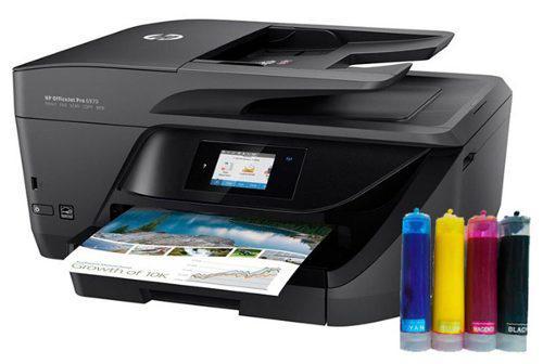 Multifuncional Hp Officejet Pro 6970 Con Sistema De Tinta