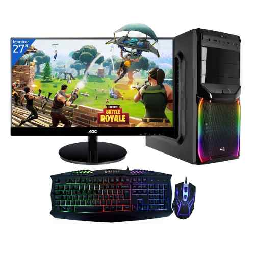 Pc Gamer Xtreme Amd Athlon 200ge 8gb 1tb Led 27 Kit Fortnite
