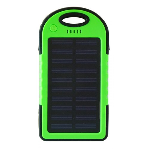 Power Bank Solar  Mah Verde