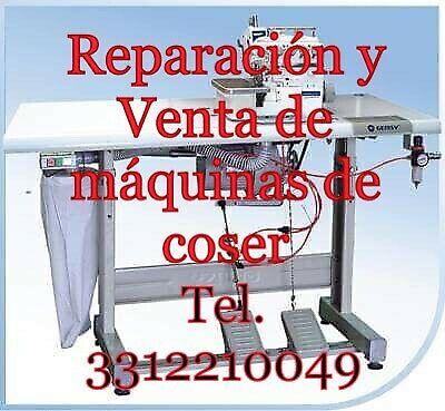 Reparación, mantenimiento y venta de máquinas de coser