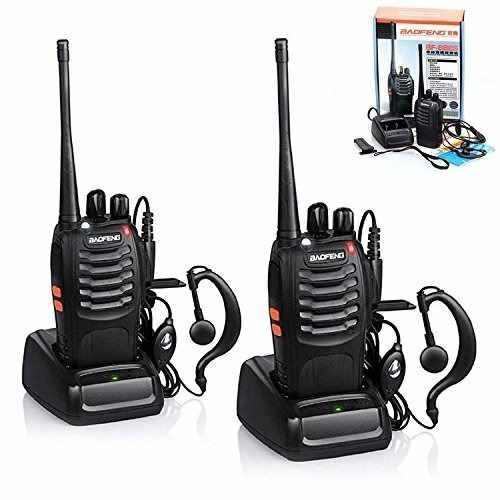 Set 2 Radios Baofeng Bf-888s Walkie Talkie Envio Inmediato