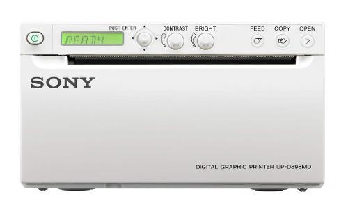 Sony Up-d898md Impresora Térmica Médica Blanco Y Negro