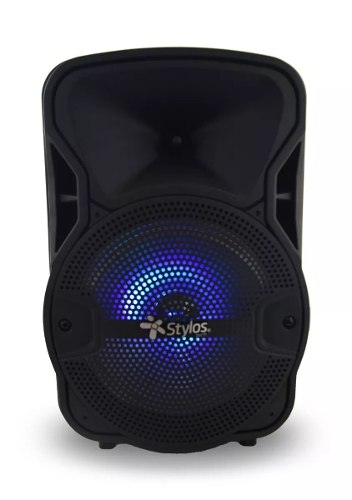 Bocina Stylos Bafle Amplificado 8 Pulgadas Bluetooth  W