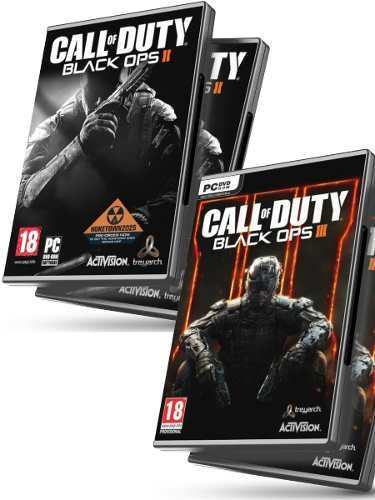 Call Of Duty Black Ops 3 + Cod Black Ops 2 - Juegos Pc