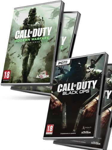Call Of Duty Black Ops Pc + Cod Modern Warfare - Juegos Pc