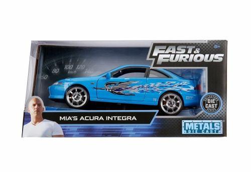 Dom's Mia's Acura Integra  Rapido Y Furioso 1:24 Jada