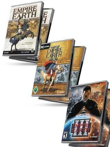 Empire Earth 1 + 2 + 3 Gold Edition + Expansion - Juegos Pc