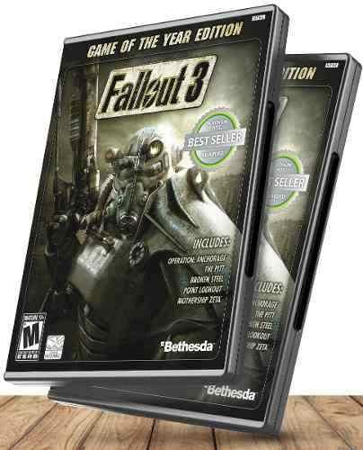 Fallout 3 Edición Juego Del Año Completo + Dlcs - Juegos
