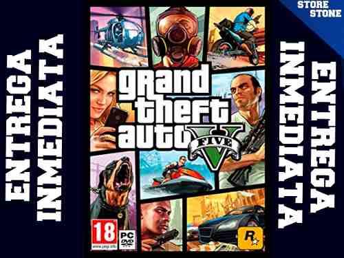 Grand Theft Auto V Rockstar Pc Entrega Inmediata + Regalo