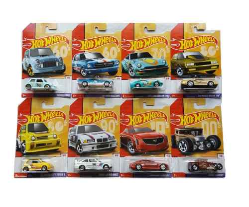 Hot Wheels 1/64 Serie Decadas Decades Completa
