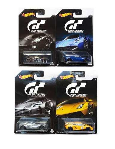 Hot Wheels 1/64 Serie Gran Turismo Piezas Individuales