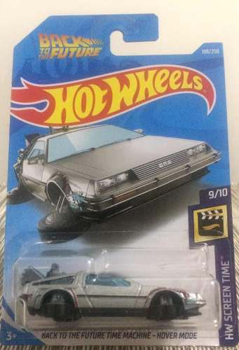 Hot Wheels Back To The Future Time Machine Hover Mode