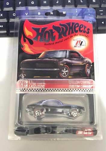 Hot Wheels Custom Camaro Red Line Club 1:64