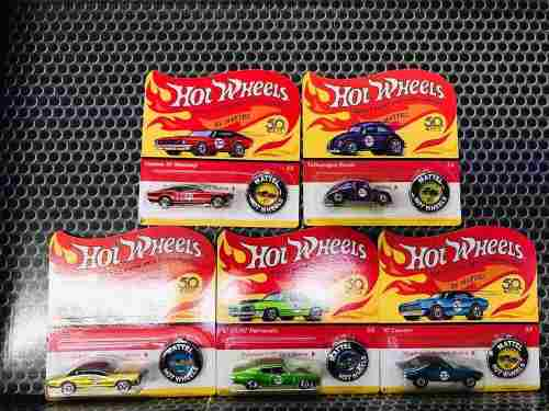 Hot Wheels Serie Red Line 50 Aniversario Tarjeta Americana