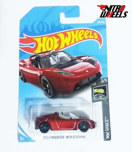 Hot Wheels Space Tesla Roadster Starman Caja F