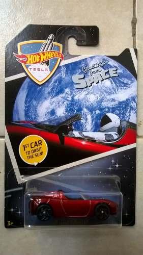 Hot Wheels Tesla Greetings From Space 08 Tesla Roadster