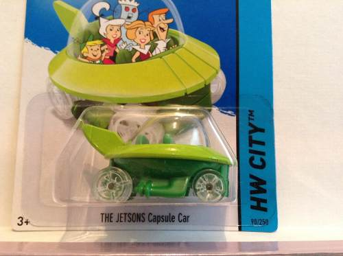 Hot Wheels  The Jetsons Capsule Car  Supersonicos