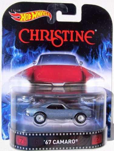 Hotwheels '67 Camaro Christine Retro  Llantas De Goma