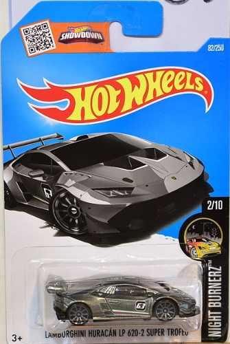 Hotwheels Lamborghini Huracan Lp  Detalle Tarjeta